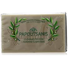 """Green Pure Olive Oil Soap """"Papoutsanis"""" Pack of 6 by Papoutsanis"""