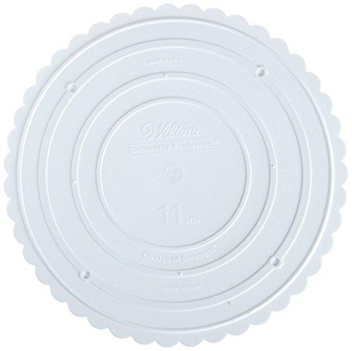 Wilton 302-11 Decorator Preferred Round Separator Plate for Cakes, ()