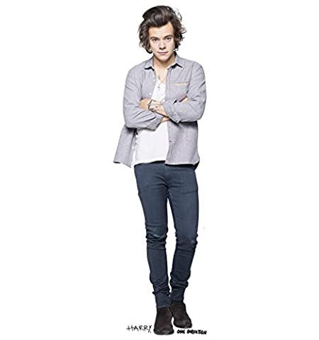 Harry Styles - One Direction - Advanced Graphics Life Size Cardboard Standup (One Direction Huge Posters)