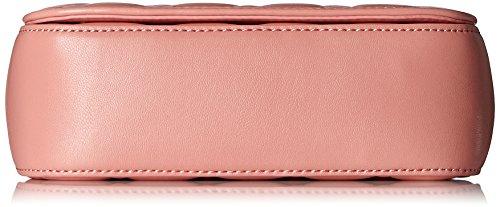 Love Moschino Borsa Nappa Pu Trapuntata Rosa - Borse a spalla Donna, Pink, 14x20x6 cm (L x H D)
