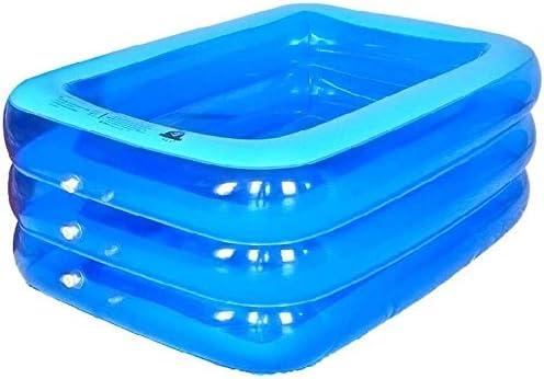 太い大人インフレータブルバスタブポータブルインフレータブル多機能子供のスイミングプール緊縛玩具ストレージプール (Color : Blue)