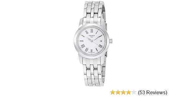 4cd8af07c Amazon.com: Tissot Women's TIST0332101101300 Dream Stainless Steel Watch:  Tissot: Watches