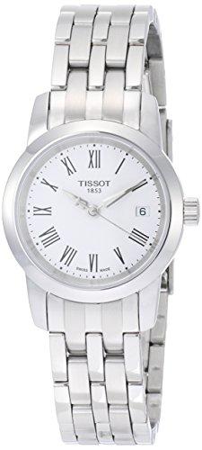 [해외] [T 소] TISSOT 손목시계 클래식 드림 쿼츠 화이트 문자판 브레스서머 T0332101101300 레이디스 [정규 수입품]