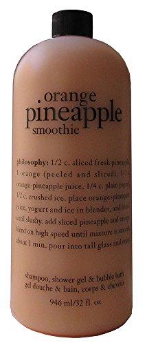 Pineapple Bubble (Philosophy Shampoo Shower Gel & Bubble Bath, Orange Pineapple, 32 Ounce)