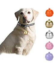 Pet GPS Tracker, 3G Dog GPS Tracker and Pet Finder GPS Dog Collar, Locator Waterproof, Bell Design Tracking Device for Dogs, Pets Activity Monitor(Color Random)