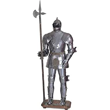 16th Century Knight Fluted Suit of Armor Display