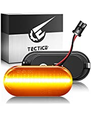 TECTICO LED dynamisk sidomarkör blinkersljus sekventiell blinkerindikator för bil