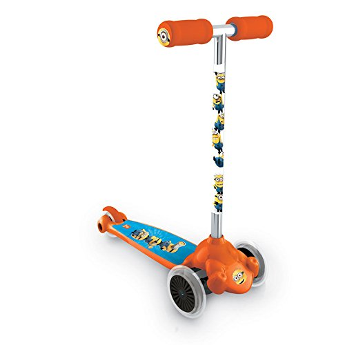 MONDO Patinete Minions Twist & Roll 3 ruedas: Amazon.es ...