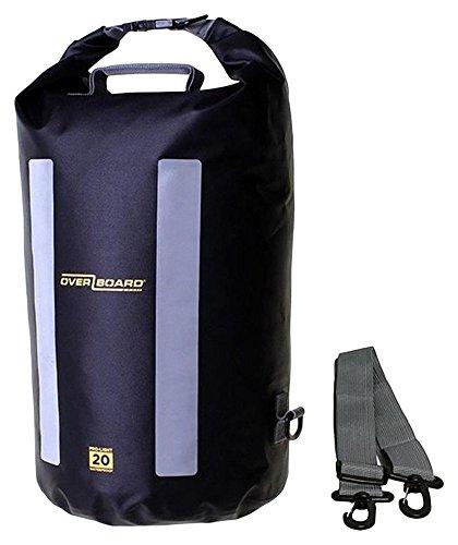 OverBoard Pro-Light Waterproof Dry Tube, 20 L, Black