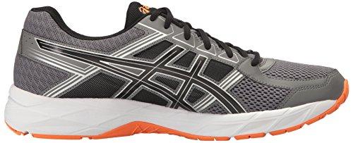 ASICS Black Men's Contend Orange Running Carbon Gel 4 Shoe Hot aarSZqx