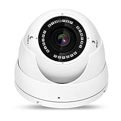 NYXCAM Dome Security Camera, (TVI, AHD, CVI, Analog) CCTV Indoor & Outdoor Surveillance Camera