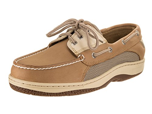 Sperry Top-Sider Men's Billfish 3-Eye Tan/Beige Boat Shoe 7.5 Men US Billfish 3 Eye