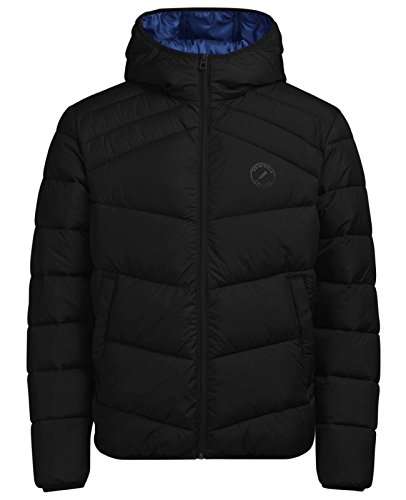 Fit amp; Jones Puffer Men's one Jacket Jorlanding Black Schwarz Jack Jorlanding Tqx6AA