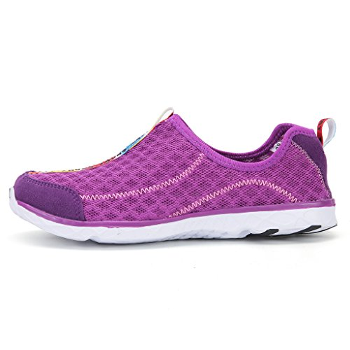 Mesh On Unisex Driving 1 Water Shoes Slip Aqua Beach bevoker Purple Shoes Quick Shoes Breathable Drying FwX4CSSq