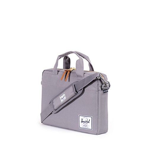 Herschel Supply Co. Hudson Messenger Bag, Grey, One Size