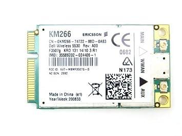New Driver: Dell Studio XPS Laptop 1640 Wireless 5530 HSPA Mini-Card