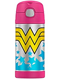 Classic Wonder Woman Logo Thermos Funtainer 12oz Kids...