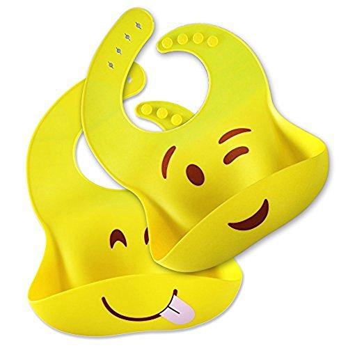 Silicone Bib Comfortable Flexible Waterproof product image