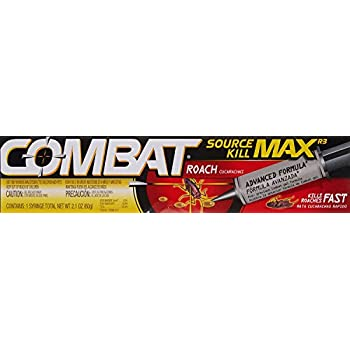 Amazon com: Combat Max Roach Killing Gel for Indoor and Outdoor Use