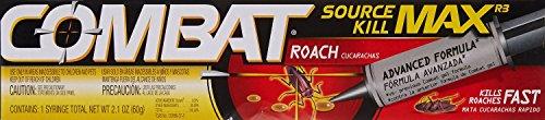 - Combat Roach Killing Gel Boxed 2.1 Oz
