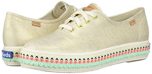 Sneaker Damen Gold Keds Wf58159 Natural Hx0g5SSwRq