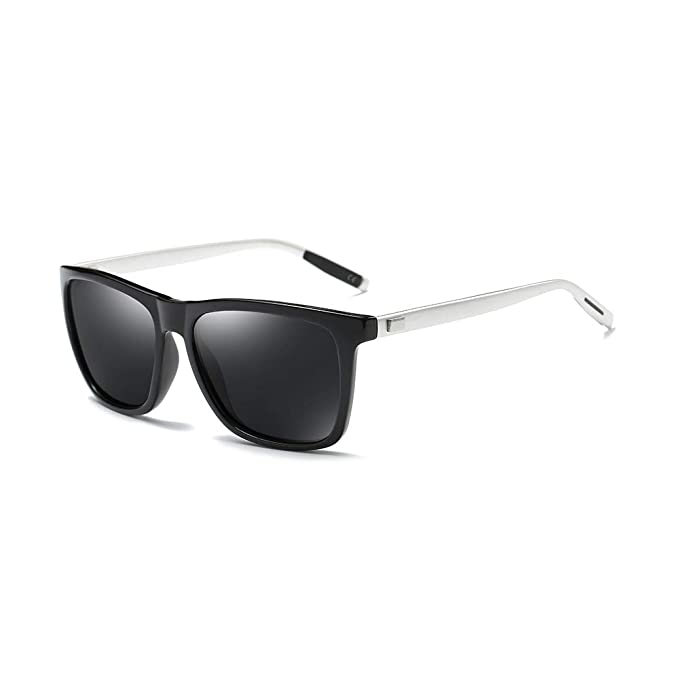 a389590a28d AMZTM Fashion Square Frame Sunglasses for Men
