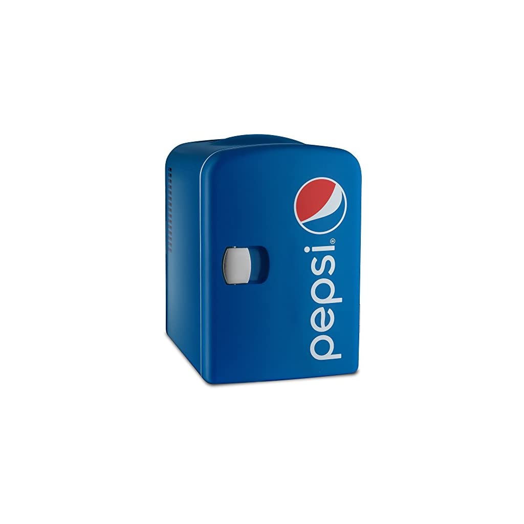 Gourmia Gmf660 Pepsi Thermoelectric Mini Fridge Cooler And