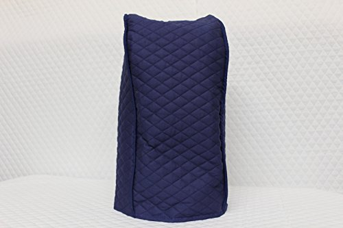 Ninja blender cover – Quilted Double Faced Cotton, Navy