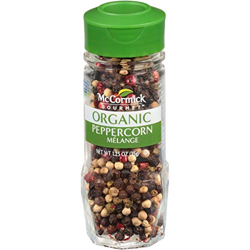 (McCormick Gourmet Organic Peppercorn Melange, 1.25 oz)