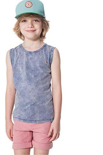 Camiseta Regata Mini Sm Marmore