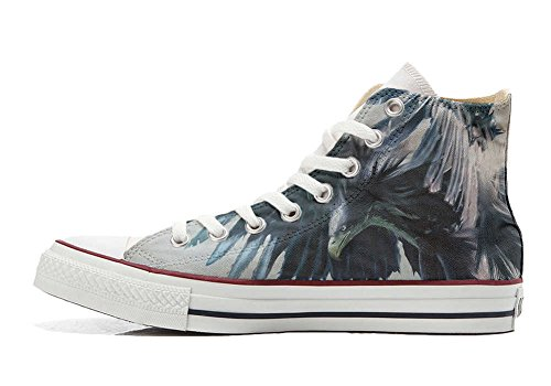 Converse All Star Customized - zapatos personalizados (Producto Artesano) Eagle
