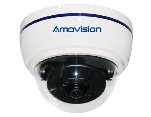 AM-Q840FE 1.3 Megapixel HD 180°Fish Eye Lens Network Mini Dome Camera (White)