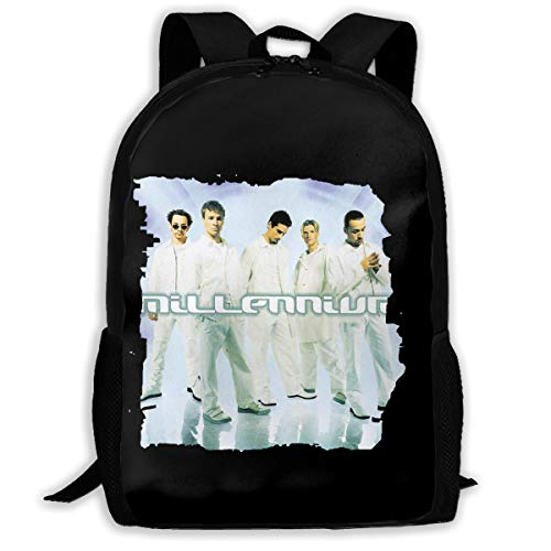 (Backpack, Travel Hiking Backstreet Boys Millennium Logo Backpacks Lightweight Mens Womens Unisex Computer Gaming Laptop Shoulder Bag Outdoor Backpacks For Men Women Adults)