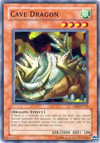 Amazon.com: Yu-Gi-Oh! - Cave Dragon (DB2-EN155) - Dark ...