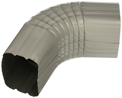 AMERIMAX HOME PRODUCTS 47264 3x4 Aluminum B Elbow, White by Amerimax Home Products (Image #1)