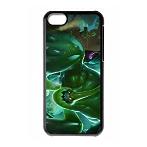 iphone5c case ,iphone5c Cell phone case Black League of Legends Zac LOL,LLDS3881953