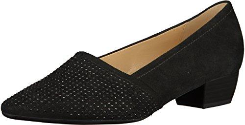 Zapatos Casuales De Mujer De Azalea Gabor Ante Negro