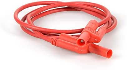 0.5 Height 4 Length 0.5 Height 4 Wide 4 Length American3B Scientific 3B Scientific U13731 SAFETY Patch Cord 2.5mm//100cm Red Grade: 1 to 1 4 Wide