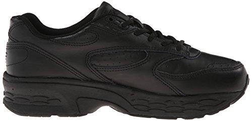 Zapatillas Para Caminar De Cuero Spira Hombres Classic Black / Black