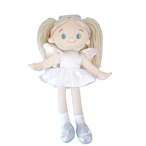 ACHIEWELL Angel Dolls Cute Soft Plush Creative Stuffed Animals 13.8-Inch (Angel Doll)