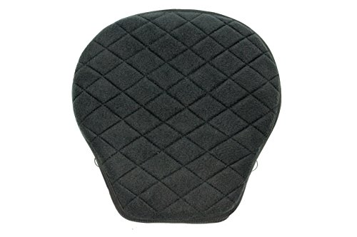Gel Pad Seat Cushion for Motorcycles with Memory Foam (Pear)