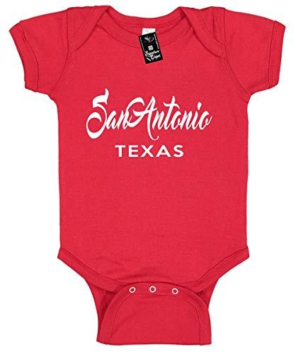Infant Funny Baby Onesie Unisex T-Shirt Size 12 (San Antonio Texas (City State)