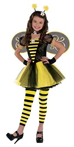 Amscan Girls Totally Bumble Bee Costume - Large (12-14)