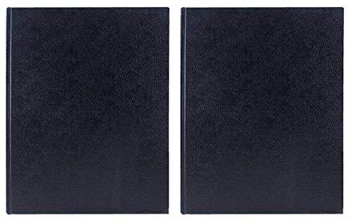 2-Pack - Art Alternatives Black Hardbound Sketch Book 9in x 12in - 110 Sheets by Art Alternatives