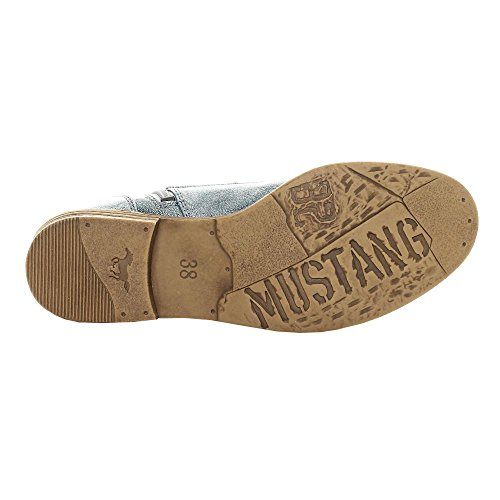 Mustang Blå Støvlet poFYd