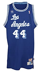 942f4e92eeb ... Gold Throwback Stitched NBA Jersey Jerry West Los Angeles Lakers Adidas NBA  Throwback Swingman Jersey - Blue ...