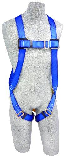 3m Protecta primera ab17510-x-large, ajuste de 3puntos arnés, con anilla en D de espalda, XL, 310LB, azul