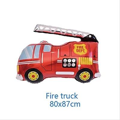 Non-branded Lucky 50pcs / Lot Cartoon Car Balloons Fire ...