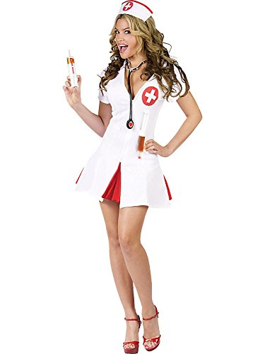 Say Ahhh! Adult Costume - (Say Ahhh Sexy Nurse Adult Costumes)