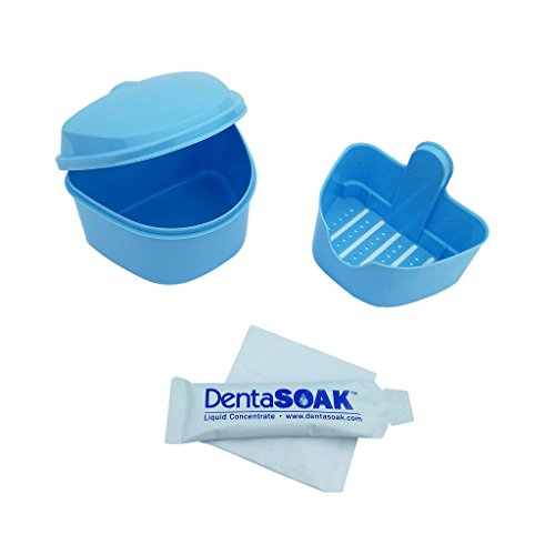 DentaSOAK Retainer Case + One Time DentaSOAK Cleanser Trial